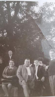 Biergarten ca. 1962