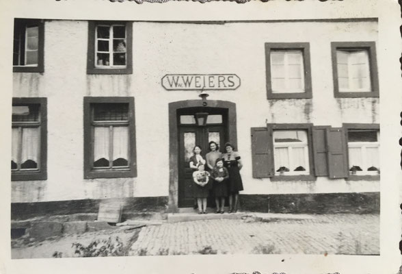 Gasthaus Weiers ca. 1944/45 (damals Festsaal im 2. Geschoss)