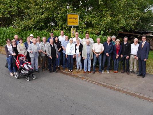 Landrat Joachim Streit zu Besuch in Ammeldingen 2016