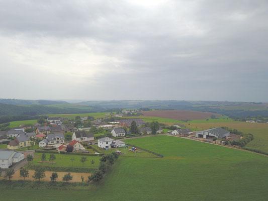 Luftaufnahme Ammeldingen-Kleinweis im August 2017