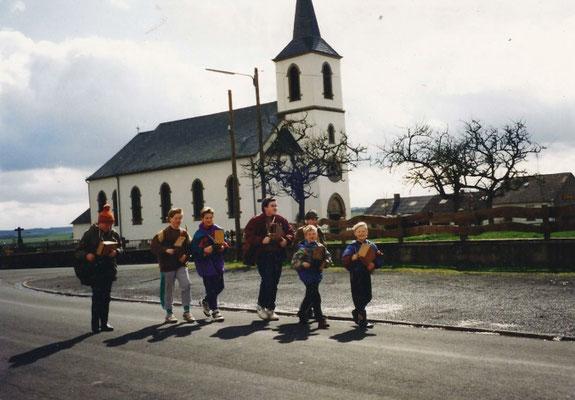 Klapperjungen Mitte der 1990er