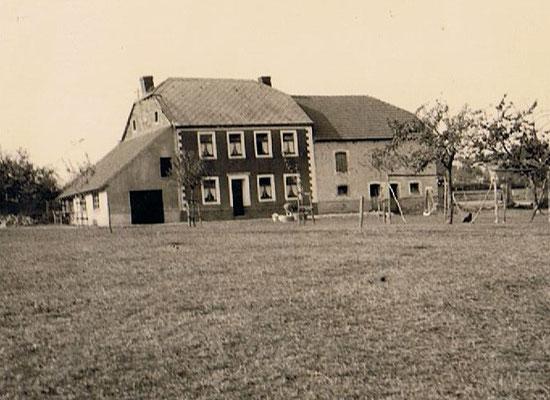 Altes Bauernhaus Ende der 1950er Jahre