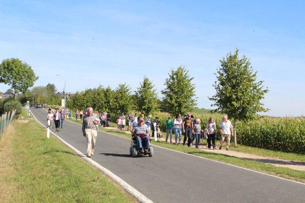 Volksfreund Wandertag 15.09.2019 in Ammeldingenv