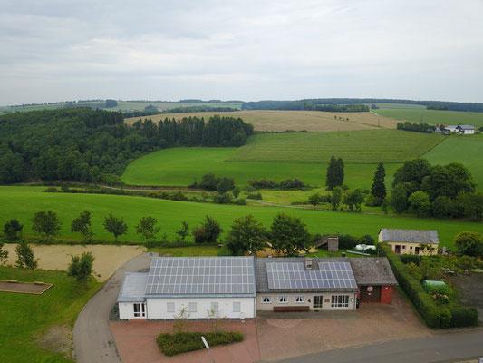 Luftaufnahme DGH im August 2017