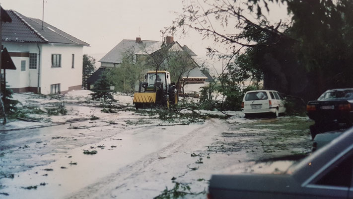 Der große Sturm 28.07.1990-Hauptstraße