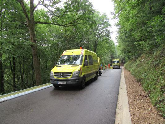 Ausbau der K59 Zwischen Ammeldingen und Neuerburg 2017