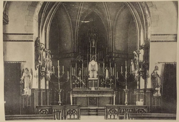 Kirche Ammeldingen vor 1955