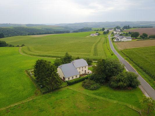 Luftaufnahme Grimbach im August 2017