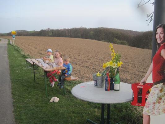 """Die """"Tour de France"""" zu Gast in Ammeldingen (01.April 2014)"""
