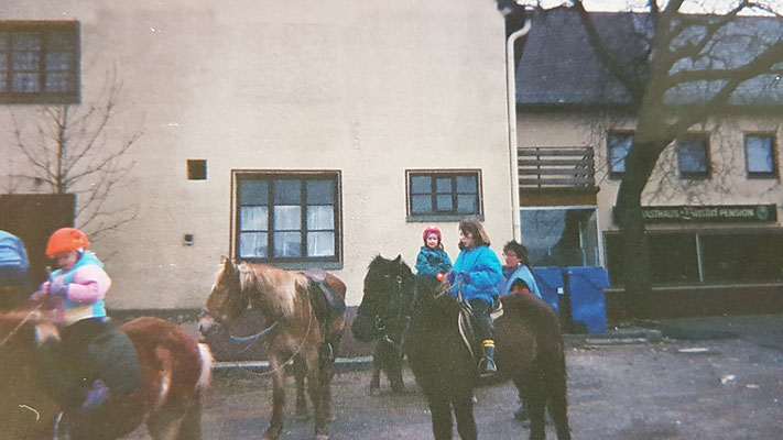 Reiter um 1995