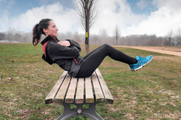 Foto Personal Training Outdoor Sit-up