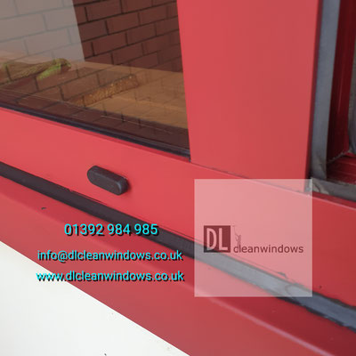 Cour restore powder coated window frame