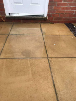 Clean patio in Cranbrook, Devon