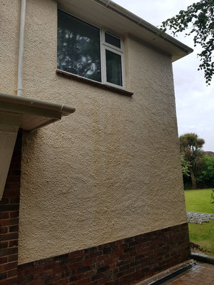 House render cleaned in Budleigh Salterton