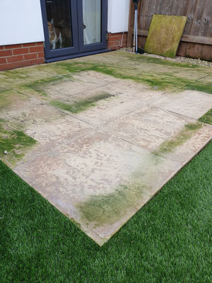 Patio cleaning Exminster