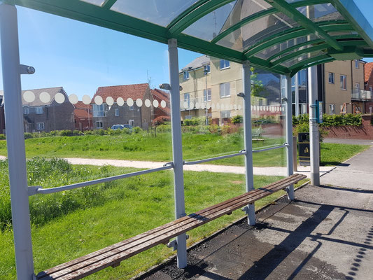 Cranbrook bus stop cleaned