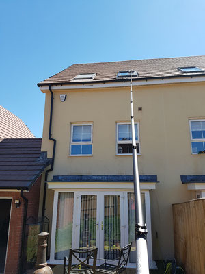 Velux roof window cleaning Pinhoe Exeter