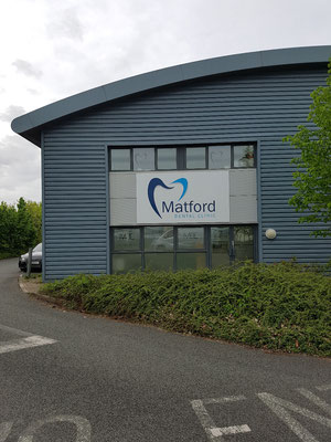 Cladding, signage and windows cleaned, Marsh Barton Exeter