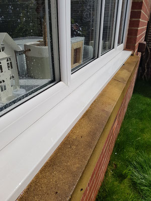 Window frames and sills cleaned Exeter