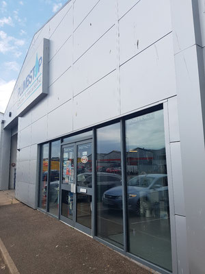 commercial window, cladding and sign cleaning