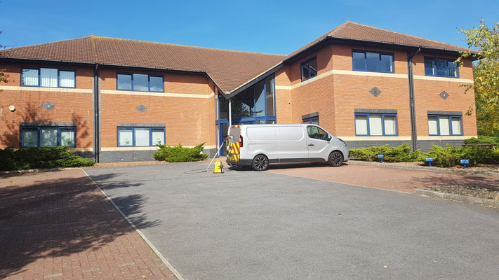 Office window cleaning Exeter