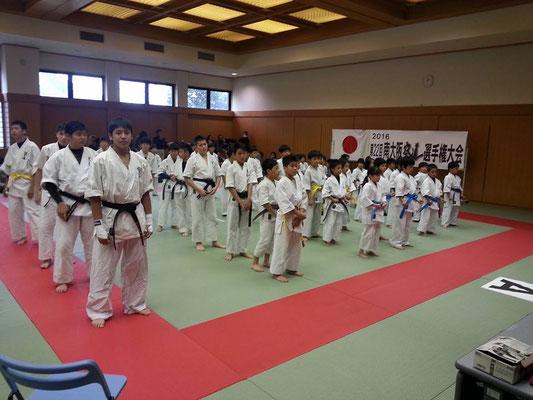 2016年 第22回 南大阪空道選手権大会 開会式