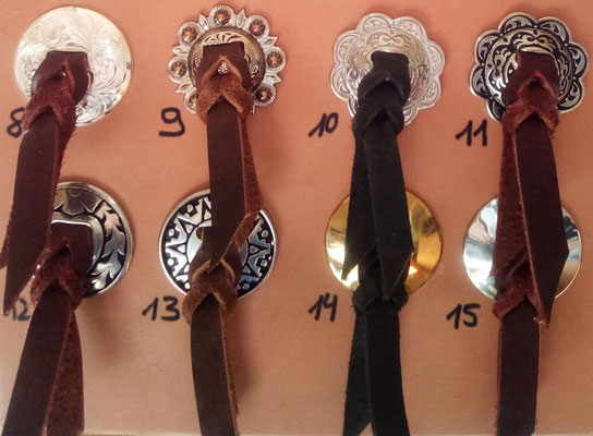 Slotted Conchos mit Strings