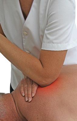 Triggerzonen Behandlung, Osteopathie Segmentmassage