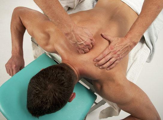 Wirbelsäulenmassage