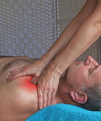Triggerzonen Schulter, Schultermassage