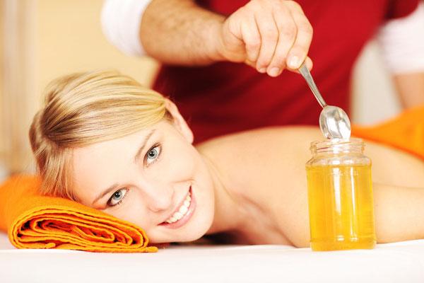 Honigmassage,