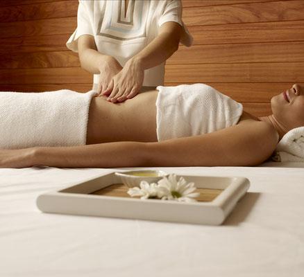 Bauchmassage, Breuss Massage, Lymphdrainagenmassage