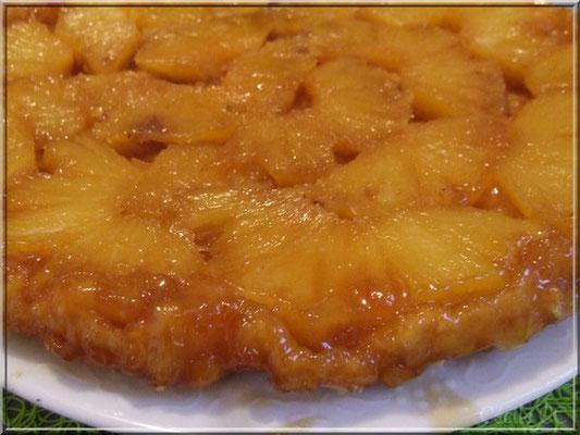 Tarte tatin ananas caramélisée