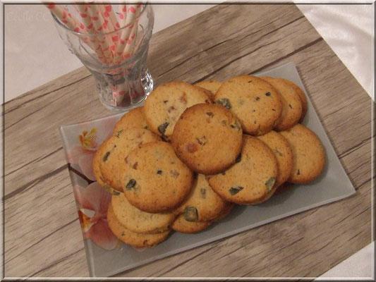 biscuit fruit confit