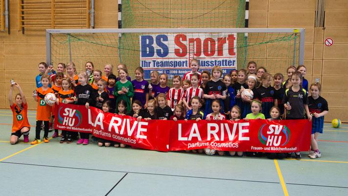 Alle Teams auf dem La-Rive-Cup in Henstedt-Ulzburg