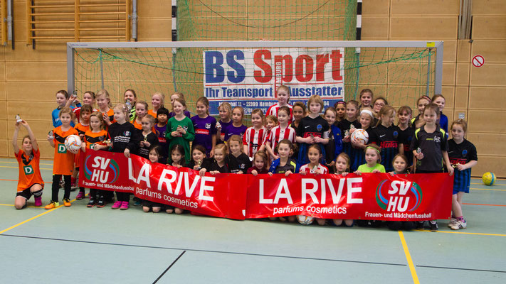 Alle Teams beim La-Rive-Cup in Henstedt-Ulzburg