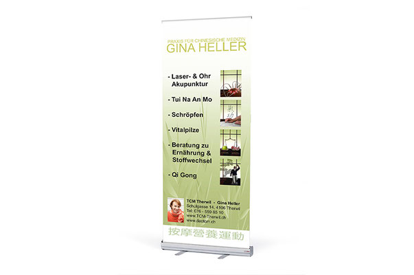 Grafik Design Basel, Werbeagentur, Print Medien, Plakate, Grafikdesign Baselland, Grafiker, Roll Up Banner