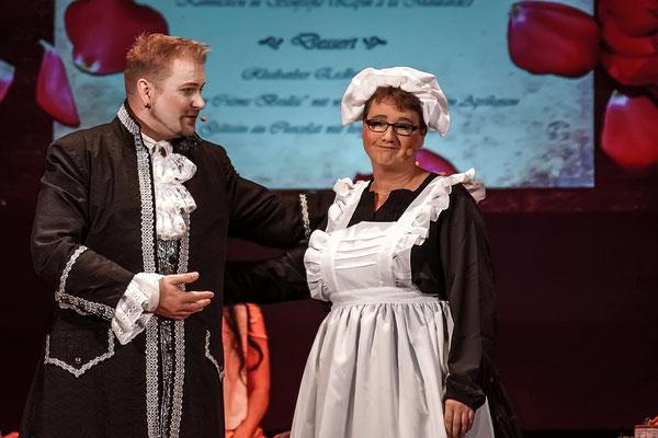 Sei hier Gast (Die Schöne und das Biest) Musicalzauber am 04.11.2018 mit Hendrik Barth, Grit Lehmann und Ensemble