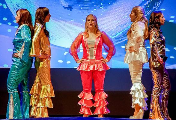 Mamma-Mia-Medley Musicalzauber 2018 mit Antje Riewe-Bez & Romy Braun & Maria Baumgart & Kristin Jähnert & Ariane Födisch