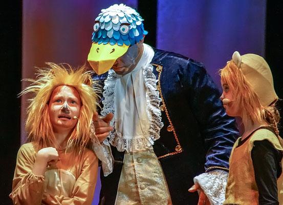 Ich will jetzt gleich König sein (König der Löwen) Musicalzauber 2018 mit Charlotte Rosenkranz, Hanna Heinzel, Conrad Walther & Ensemble