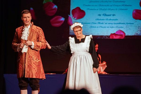 Sei hier Gast (Die Schöne und das Biest) Musicalzauber am 02.11.2018 mit Mirko Böttger, Grit Lehmann und Ensemble