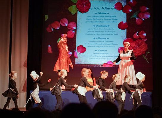 Sei hier Gast (Die Schöne und das Biest) Musicalzauber am 02.11.2018 mit Mirko Böttger, Grit Lehmann und dem Tanzstudio Lattermann