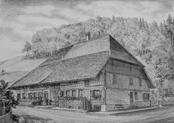 Bauernhaus 1687 / Hubelhohle/Weidliweg
