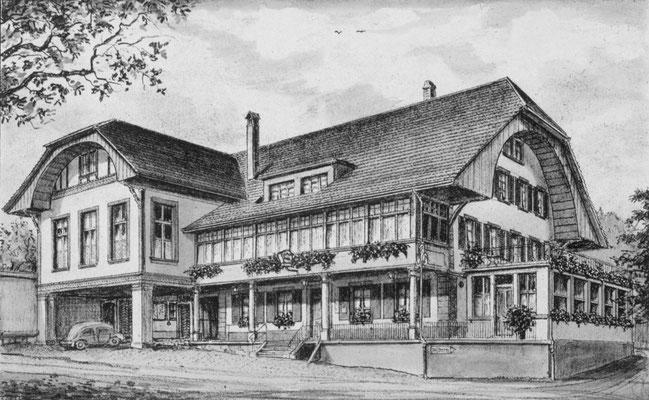 Restaurant Hirschen (heute Brunello)