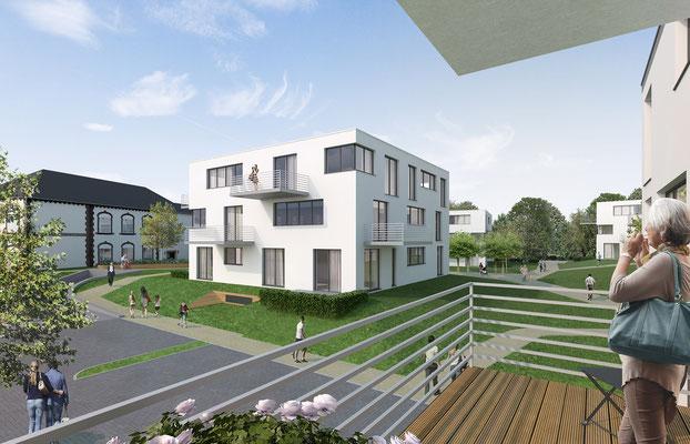 Wettbewerb Wohnbebauung Meerbusch | Theissen Architekten, Dortmund