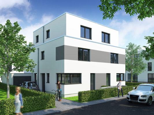 Doppelhäuser in Köln | KlokGIB, Krefeld