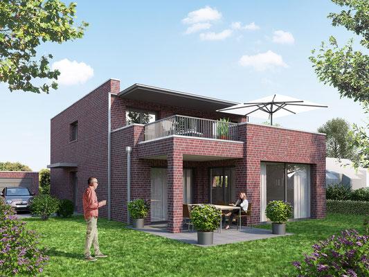 Neubaugebiet Erlenweg in Moers | KlokGIB, Krefeld