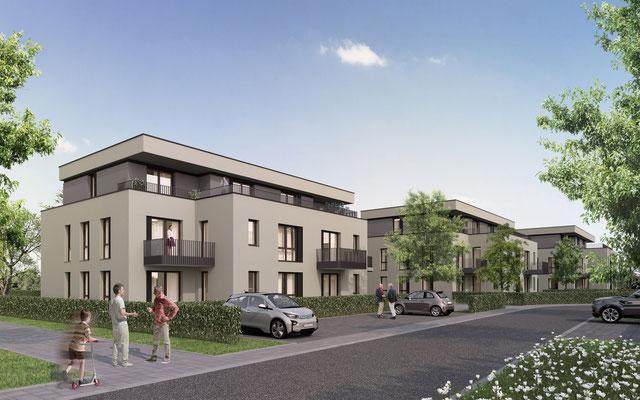 Mehrfamilienhäuser Neue Flur in Krefeld | Remscheid Comes, Krefeld für Wohnstätte, Krefeld