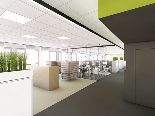Büroetage | bkp, Düsseldorf