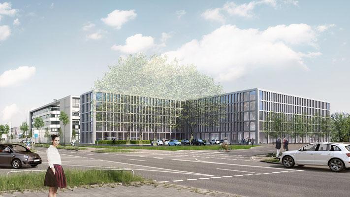 Verwaltungsgebäude in Düsseldorf, schröder & kamm, Essen